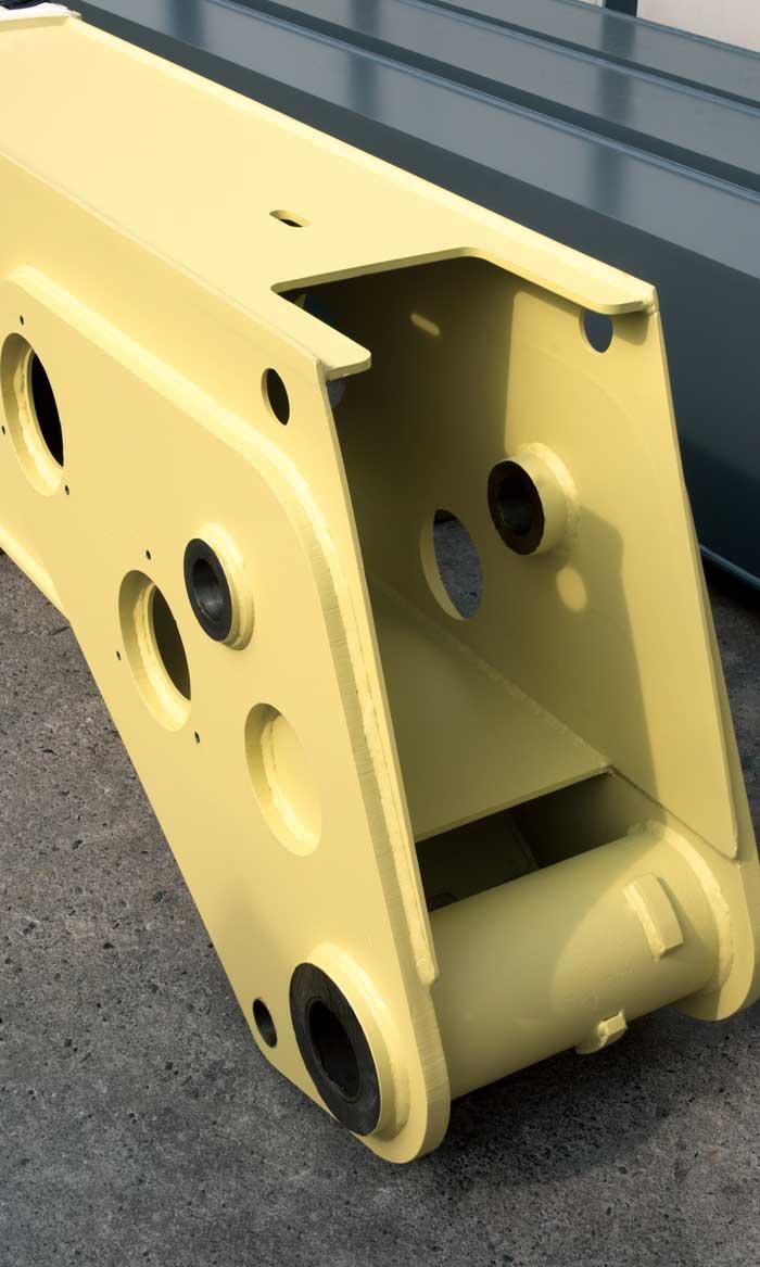 Steel Crane Component
